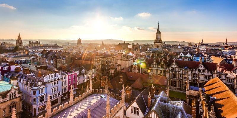 Aprende Ingles en Oxford y disfruta e los sitios historicos de la ciudad