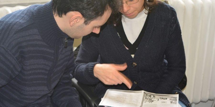 Preparación IELTS Britannia, estudante reforzando sus conocimientos